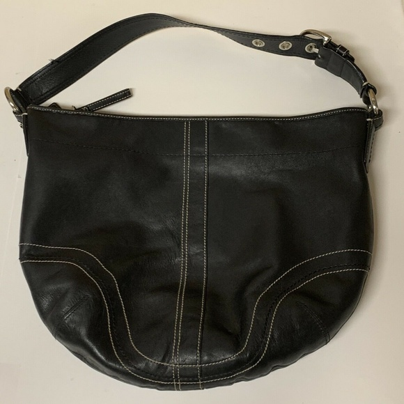 Coach Handbags - COACH Black Leather  Soho Hobo Shoulder Bag Purse